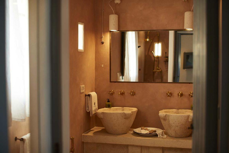 Doppio lavabo bagno Itaca
