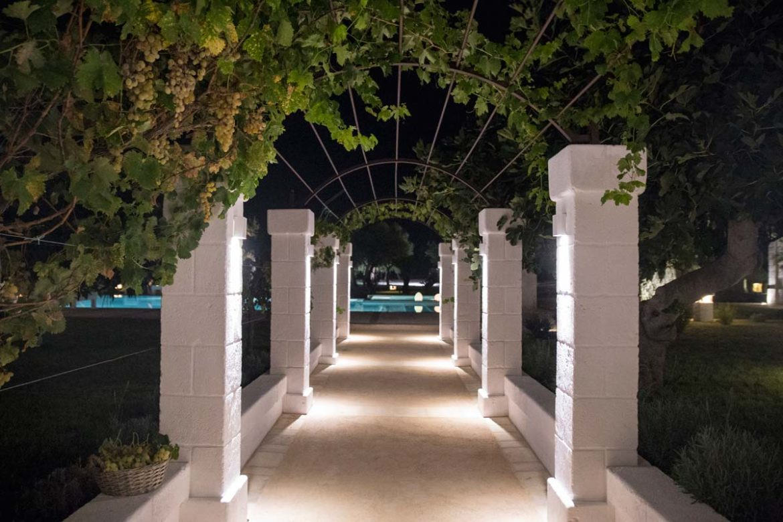 Pergolato di uva Almadava Resort