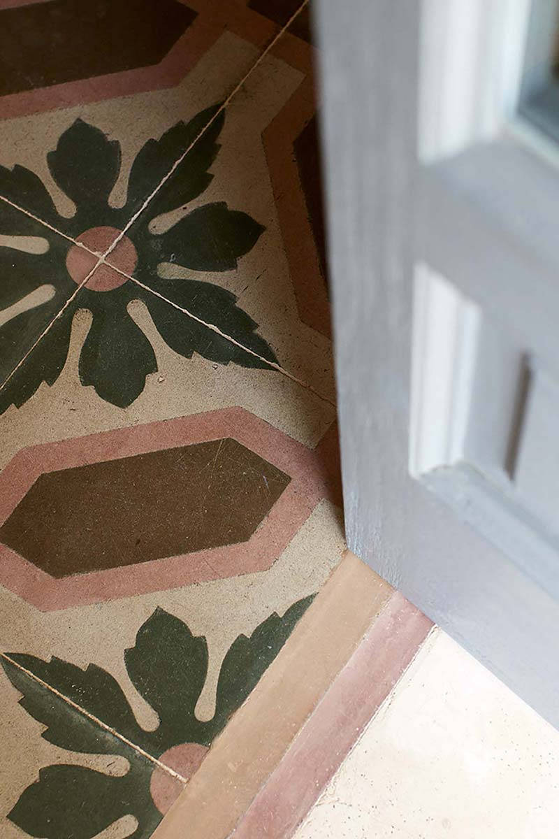 Nausicaa room historic floor