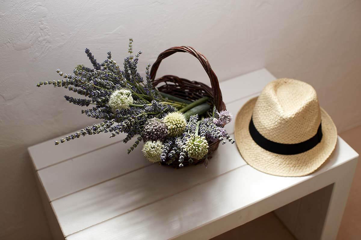 Stanza Nausicaa - Addobbo floreale - Masseria Almadava