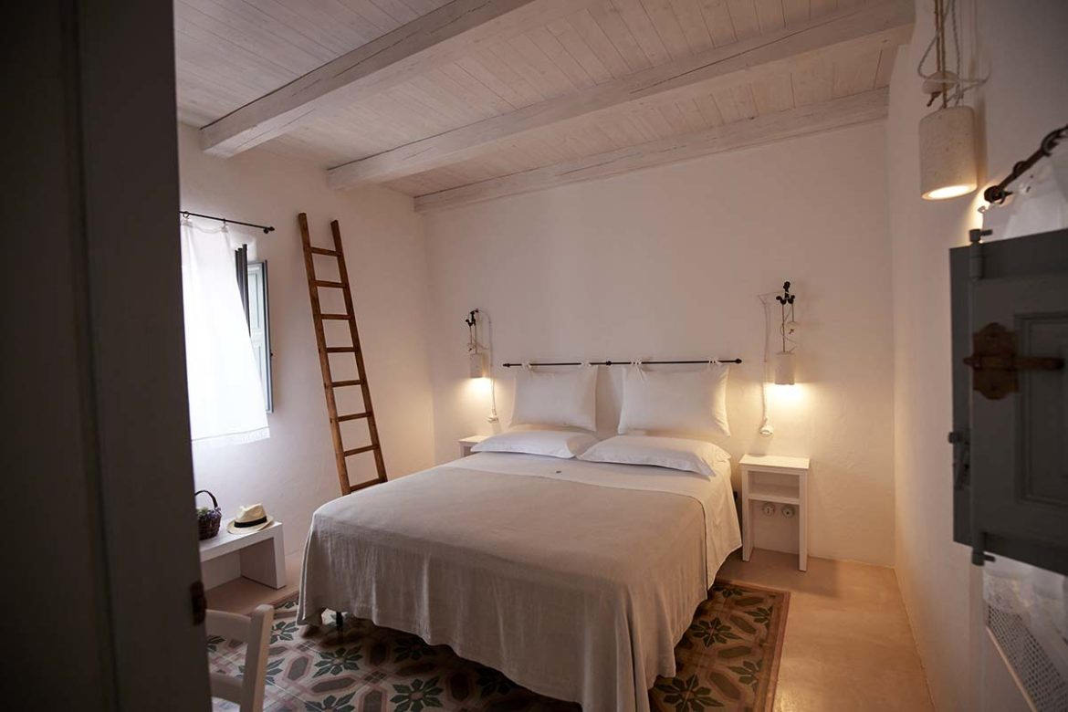 Nausicaa room with exposed beams