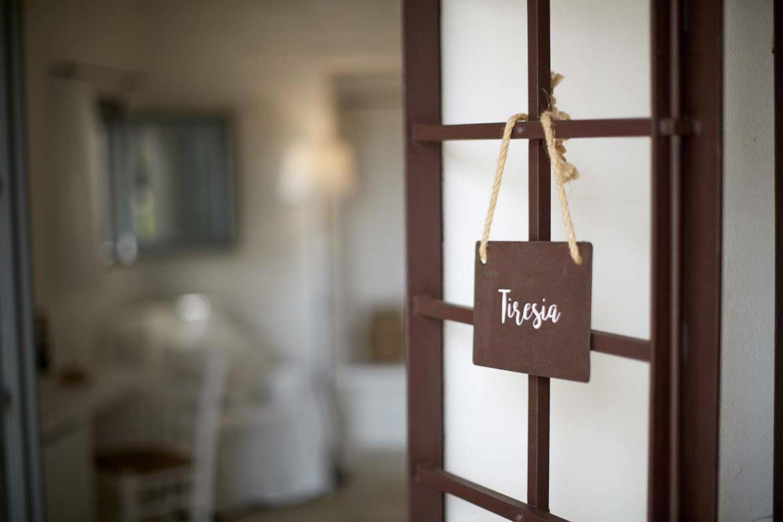 Tiresia room entrance