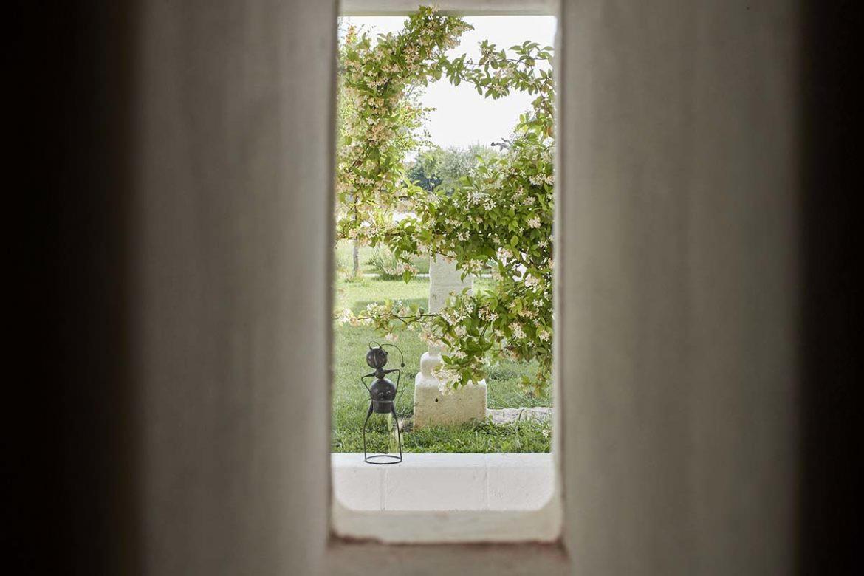 Stanza Tiresia - Camera Doppia con vista giardino - Masseria Almadava