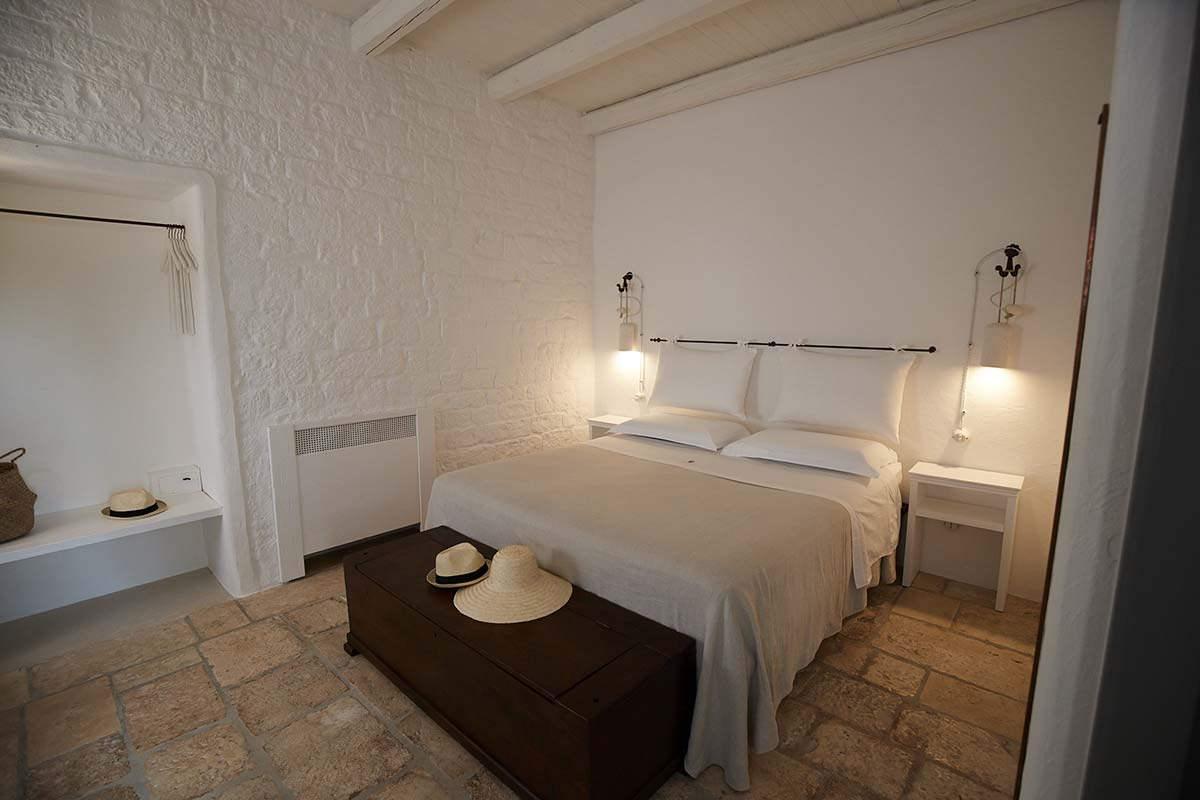 Stanza Tiresia - Camera matrimoniale - Masseria Almadava